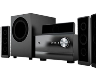 Home theater set up $180