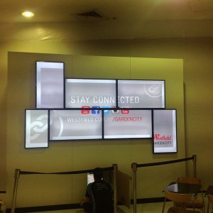 Westfield video wall Before