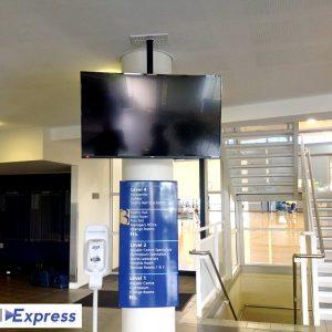 Ceiling Mount TV