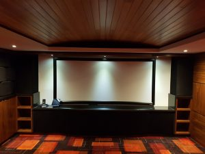 Home theatre decor idea