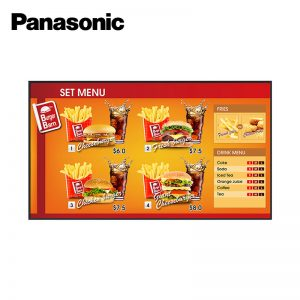 "75"" Commercial Display"